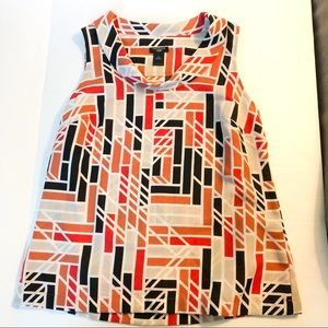 Ann Taylor sleeveless blouse